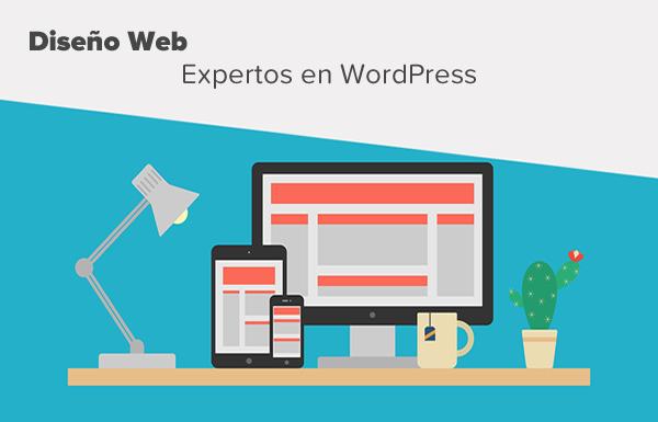 Diseño en wordpress de paginas webs y blogs